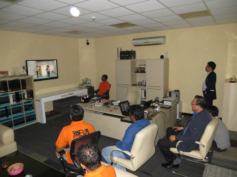 LG Hausys Floor Installation Training at Casa Walls and Floors Dubai Office - 2