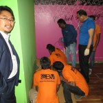 LG Hausys Floor Installation Training at Casa Walls and Floors Dubai Office